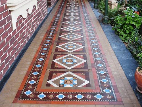 outdoor tiling ideas
